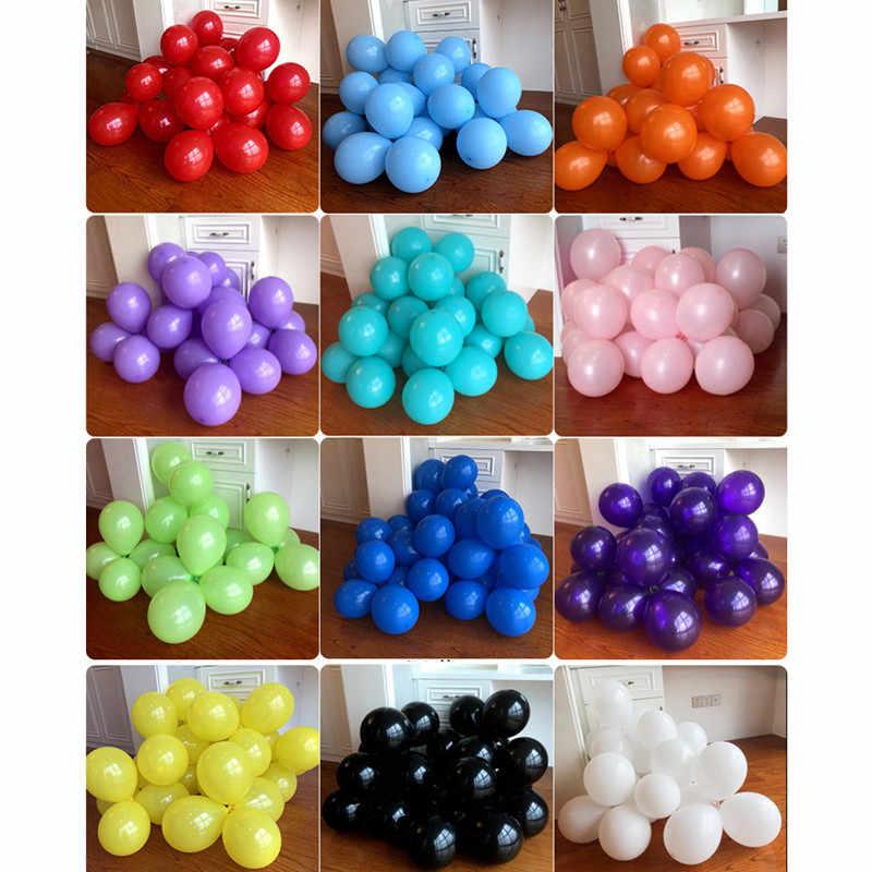 10pcs 12 นิ้วล้างบอลลูนงานแต่งงานบอลลูนบอลลูนวันเกิด Happy Birthday วันเกิดเด็ก Ball Air Balon Helium Baloons