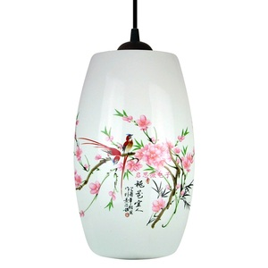 Image 5 - Nowa chińska lampa wisząca do kuchni jadalnia oprawa wisząca do salonu wiszące ceramiczne żyrandole do sypialni