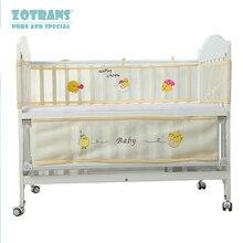 Детские кроватки бамперы для автомобиля в кровать вокруг и детские чехол для постельного белья сетка Марля мультфильм животных кровать новорождённого бампер набор детской комнаты декор