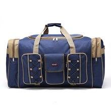 Thick Canvas Causal Duffle Bag Waterproof Men