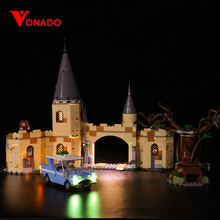 Vonado Led Light Up Kit For Harry Potter Hall Light Set Compatible With 75953(only light) P124 julite led light kit only light included for lego 60051 compatible with 02010 cities high speed passenger train