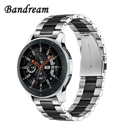 Bandream Stainless Steel Watchband + Link Remover for Samsung Galaxy Watch 46mm SM-R800 Quick Release Band Strap Wrist Bracelet