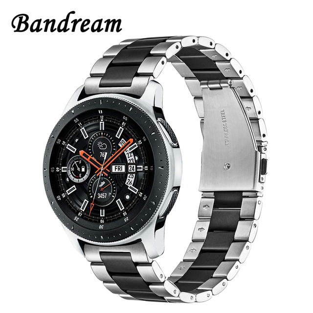 Bandream Stainless Steel Watchband + Link Remover for Samsung Galaxy Watch 46mm
