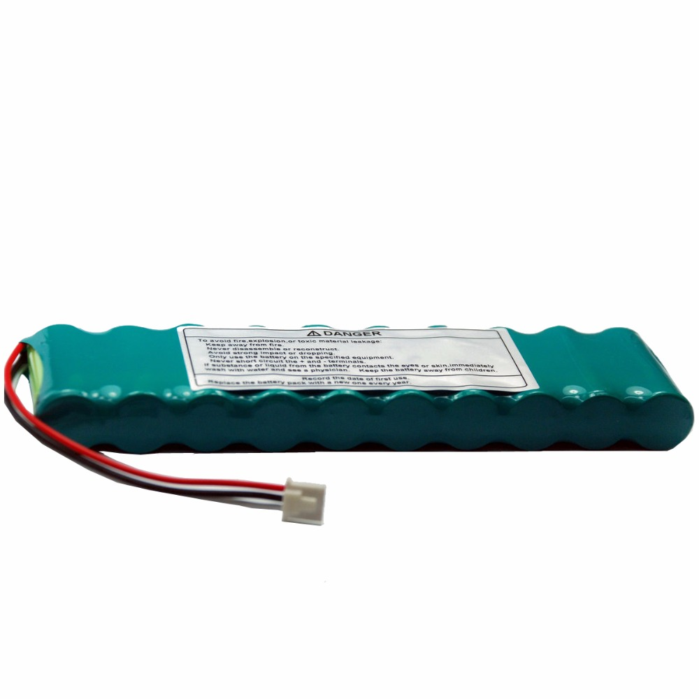 1950mAH New Electrocardiogram machine battery for Nihon Kohden ECG-1150 ECG-1250,ECG1250C ECG-1950,X071 replacement nihon kohden sb 201p x076 battery nihon kohden pvm 2700 pvm 2703 pvm 2701 ecg ekg monitor battery high quality