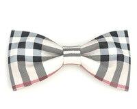 2016 moda homem adulto xadrez bowtie bow tie mulheres feminino artesanal casamento mariage designer papillon gravata masculina gravata