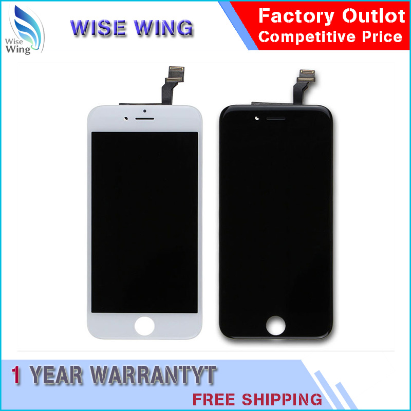 10/pcs 5.5 For iPhone 6s plus LCD Display with 3D Touch Screen Digitizer Assembly No Dead Pixel Black or White Free DHL Shipping