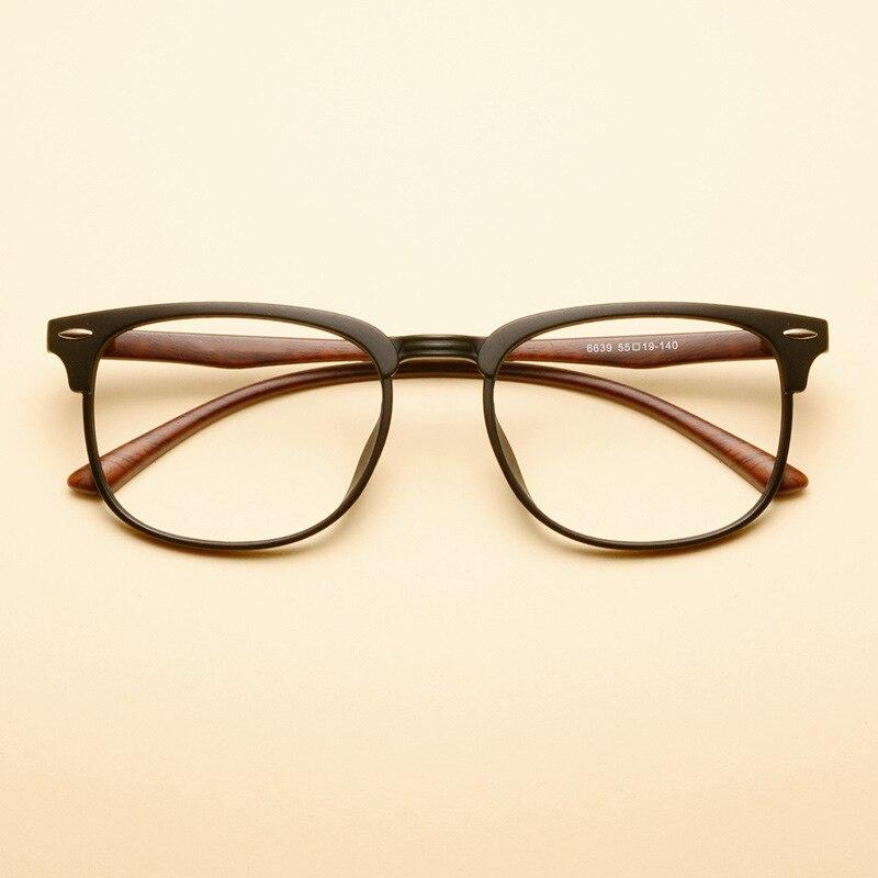 6638b87ac76 Vazrobe Half Rim TR90 Eyeglasses Frame for Men Custom make Prescription  Spectacles Male Eyeglass .