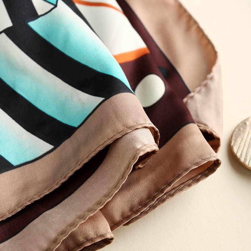 2019 Nieuwe Fahsion Print Sjaal Sjaals Vrouwen Lente Herfst Zachte Casual Merk Dame Bandana Chiffon Hijab Accessoires
