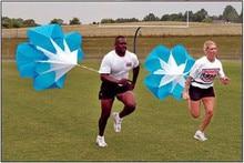VILEAD Speed Training Running Drag Parachute Soccer Training Fitness Equipment Speed Drag Chute Physical Training Equipment