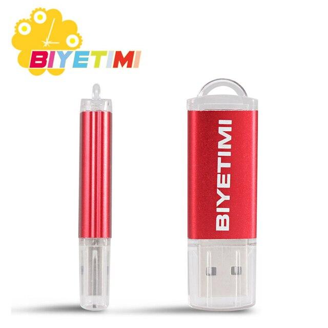 Biyetimi USB stick 128GB 64GB 32GB 16GB 8GB USB2.0 TransMemory USB sticks USB memory Stick 32GB usb Pen Drive U disk