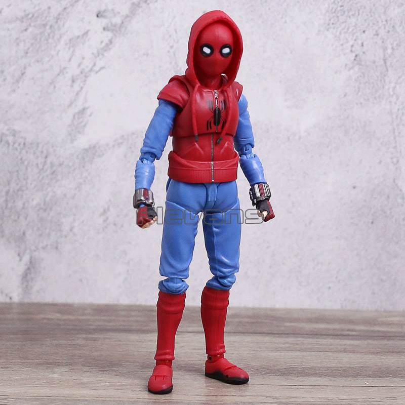 SHF Spiderman Action Figure Toy Spider-Man Homecoming PVC Movable Figure Figurine Collection Model