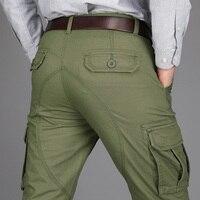 2017 New Men S Heavyweight Fleece Cargo Pants Tactical Military Pants Men Cotton Rip Stop Soldier