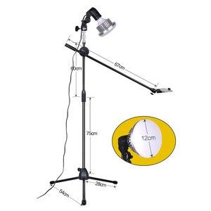 Регулируемый кронштейн для съемки телефона 1,3 м с стрелой + супер яркий светодиодный светильник 35 Вт комплекты для фотостудии для фото/видео