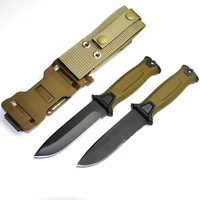Hot New Fixed Blade Knife 12C27 Steel Blade With K Sheath Hunting Knives Camping Tools Outdoor