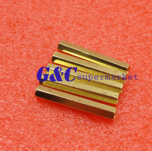 50pcs M3 12 mm Hexagonal net nut Female brass Standoff//Spacer