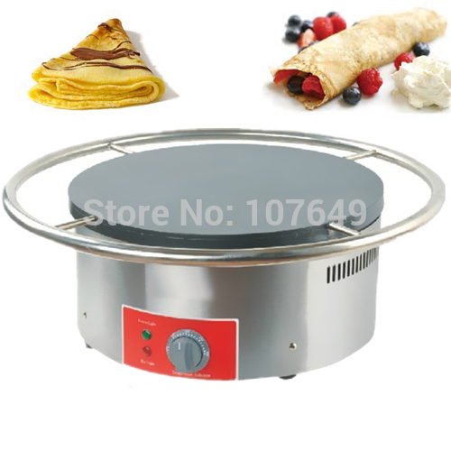 45cm 110V 220V Electric Rotary Crepe Maker Iron Machine Baker