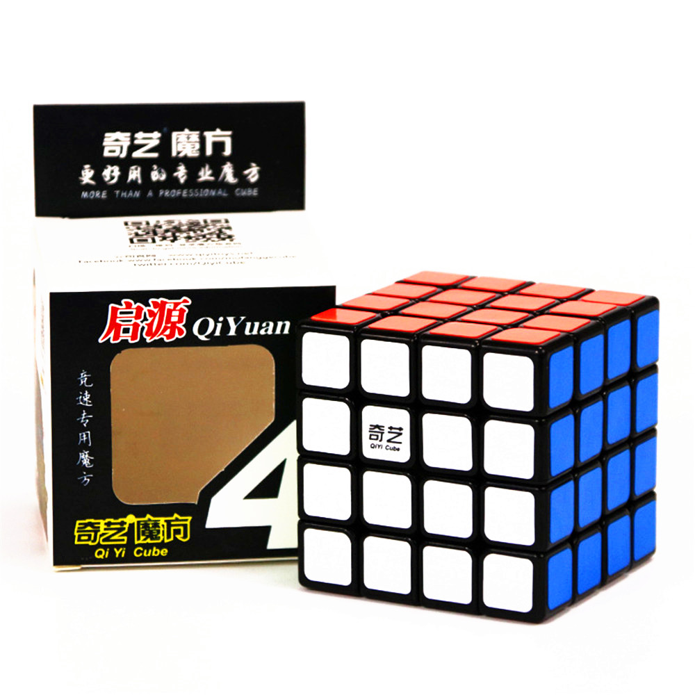 QIYI QiYuan 4x4x4 Layers Speed Magic Cube Twist Puzzle Intelligence Contest 4x4 Twist Cube Funny Gift Toys