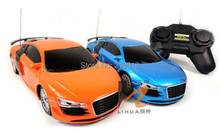 1:24 4 ch remote control R8 model rc electric car toy/children radio controller car gift