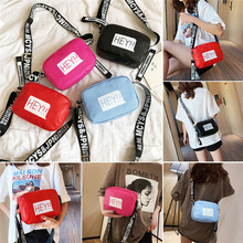 купить NoEnName Fashion Women Bags Purse Contrast Color Camera Shoulder Bag Letter Print Handbag Tote Messenger Satchel Bag Cross Body дешево