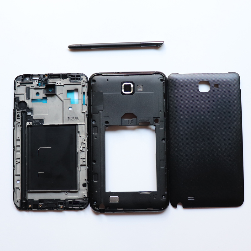 Full Housing for Samsung Galaxy NOTE 1 N7000 I9220 Stylus Touch S Pen+Front Frame+Middle Frame+Battery Cover door Repair Parts Full Housing for Samsung Galaxy NOTE 1 N7000 I9220 Stylus Touch S Pen+Front Frame+Middle Frame+Battery Cover door Repair Parts