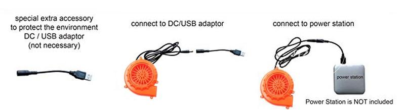 unicorn inflatable costume USB