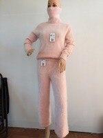 Новый глава свитер леди норки кашемировый свитер Бесплатная доставка A171212