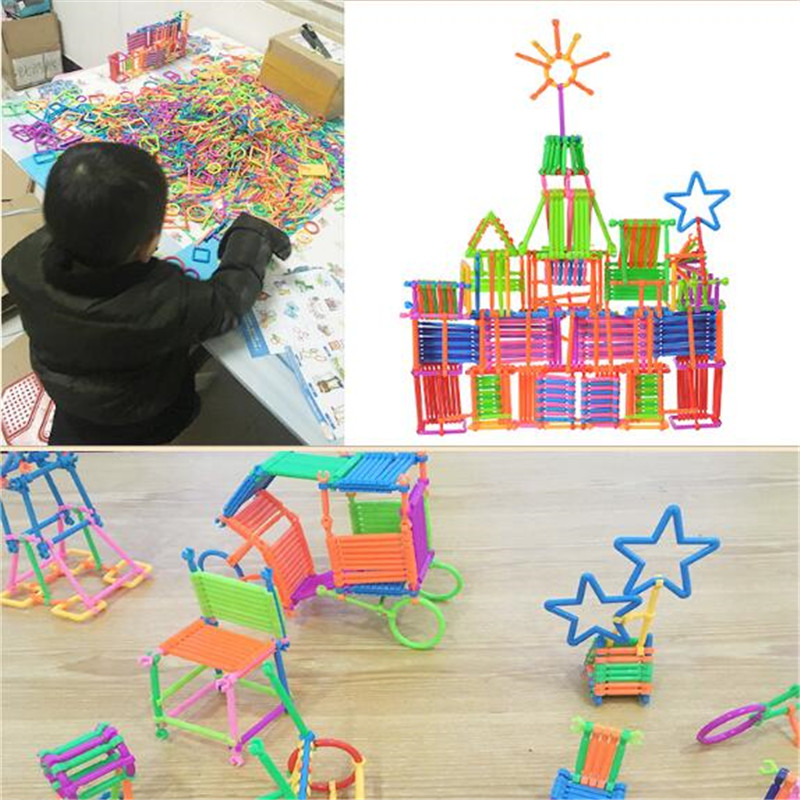 CXZYKING Plastic Building Blocks Toys 500pcs Geometric Figure Toy Educational Toy For Baby Children Gift Boys Girls baby toys wooden geometric blocks kids balancing game toy children learning educational toys for children family game gift toys
