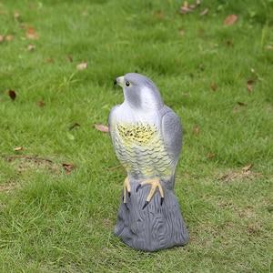 Image 4 - Realistic Falcon Scare Cat Scarer Rabbit Bird Repeller Cat Prowler Owl Fake Scarecrow Decoy Pest Control