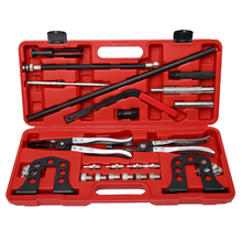 Cylinder Head Service Valve Spring Compressor Remover OHV OHC Engine Repair Set(China)