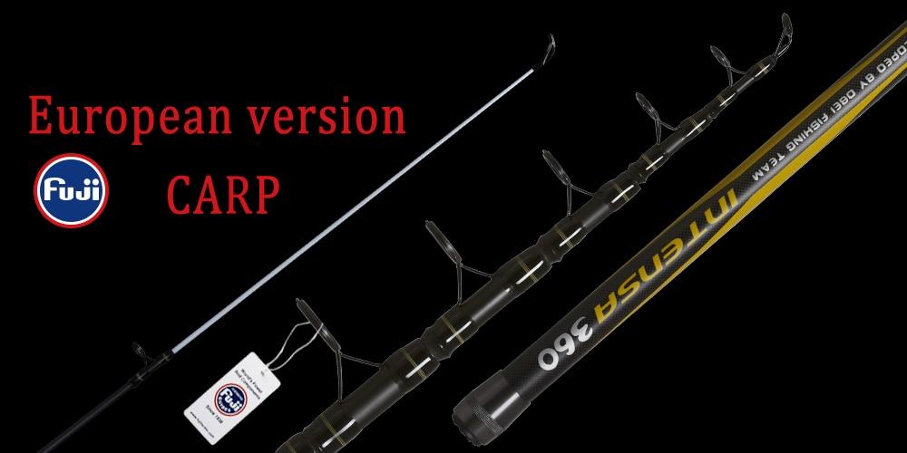OBEI Feeder fishing rod telescopic spinning casting Travel Rod 3.3 3.6m vara de pesca Carp Feeder 60-180g pole
