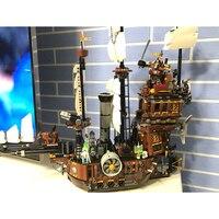 Hot Sale MetalBeard S Sea Cow Building Bricks Blocks Figures Toys For Children Boys Game Gift