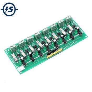 AC 220 V MCU nivel TTL 8 canales optoacoplador prueba Junta aislada probador de detección módulo PLC procesadores 8 canal