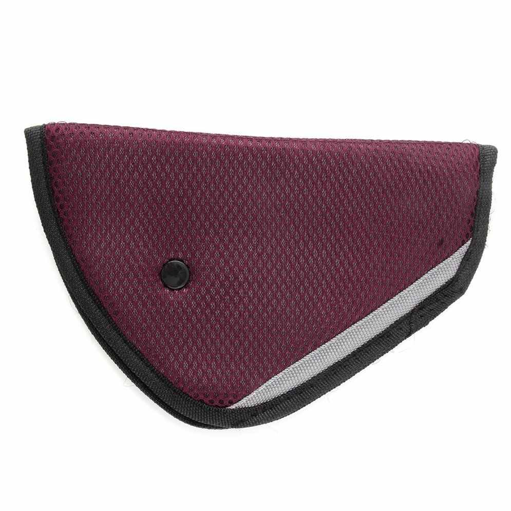 8 สีจัดส่งฟรีรถเข็มขัดนิรภัยที่นั่งปรับเข็มขัดนิรภัยรถยนต์ปรับอุปกรณ์เด็กทารก protector positioner Breathable