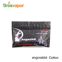 High quality original vape cotton Angorabbit Cotton for all kinds of DIY Atomizers(China)