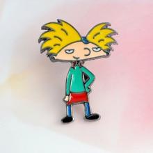 Cartoon Figure Cool boy brooch Metal Enamel Pin buckle Denim Jacket Bag Coat Shirt Pin Badge Jewelry Gift for Girl Boy Kids