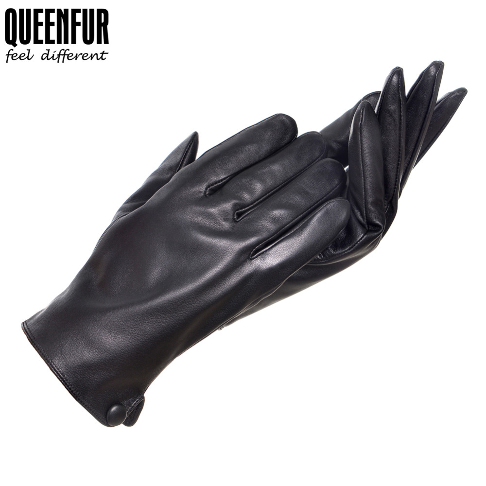 Mens gloves isotoner - Warm Winter Men Driving Gloves Genuine Leather Black Leather Gloves Male Leather Gloves Winter Gloves High