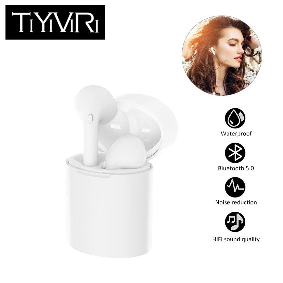 X10 TWS casque audio sans fil 5.0 Écouteurs écouteurs bluetooth casque étanche Microphone avec Charge pour ios Andriod Samsung