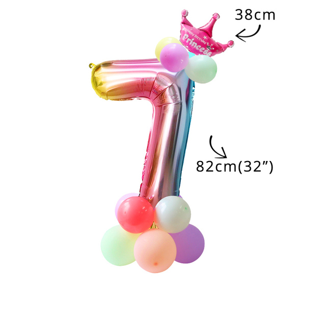 16pcs balloon kit 7