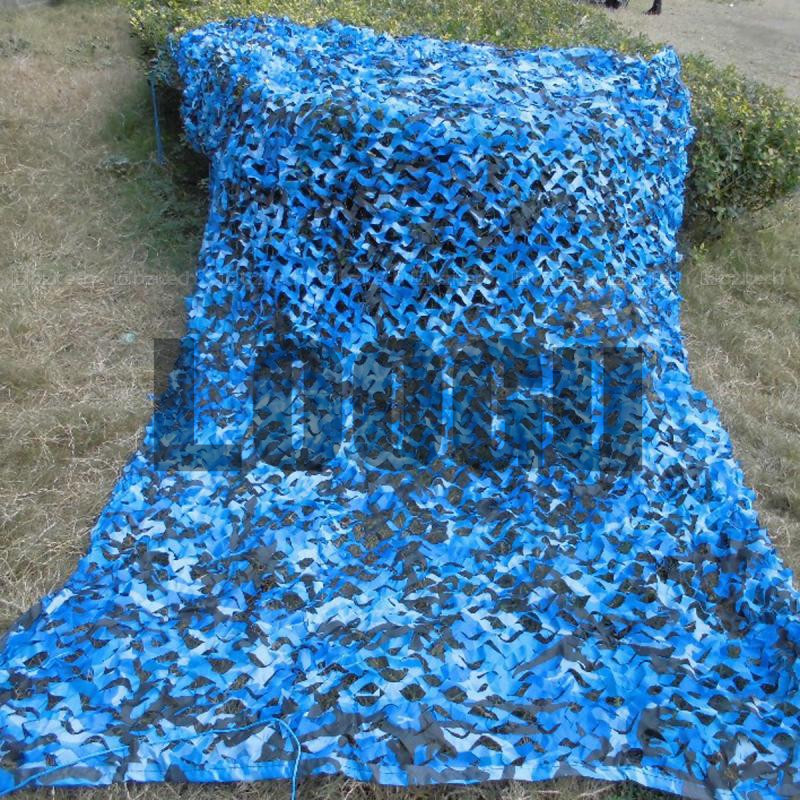 4M*5M Sea Blue Digital Camo Netting Military Camo Netting Army Camouflage Jungle Net Shelter for Hunting Camping Sports Tent loogu em 3m 4m blue camo netting sea ocean camouflage netting ship covering tent decoration camouflage net