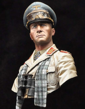 DIY TOYS Resin Kits 1 10 Generalfeldmarschall Erwin Rommel 1942 bust Unpainted Kit Resin Model Free