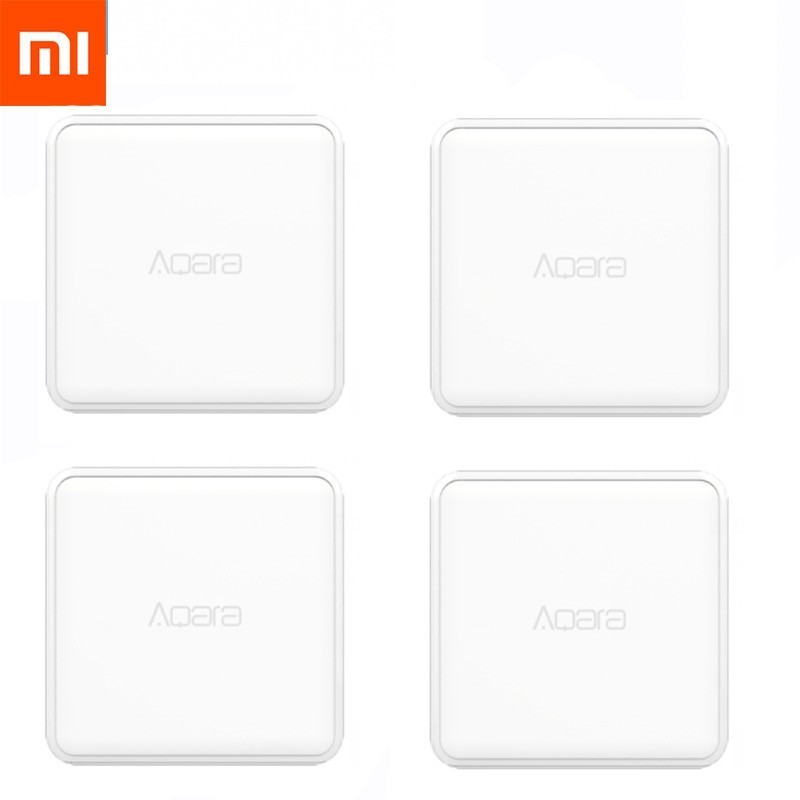 Xiaomi Cube-Controller Work Home-Device Mijia Magic Zigbee-Version Smart For With Six-Actions
