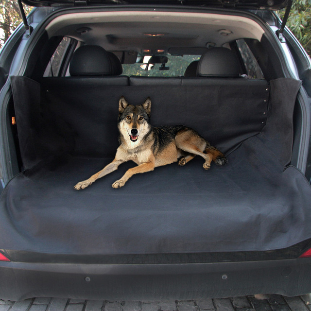 TIROL Puppy Safety Waterproof Back Seat Cover For Dogs Mats Hammock Protector Rear Pet Car
