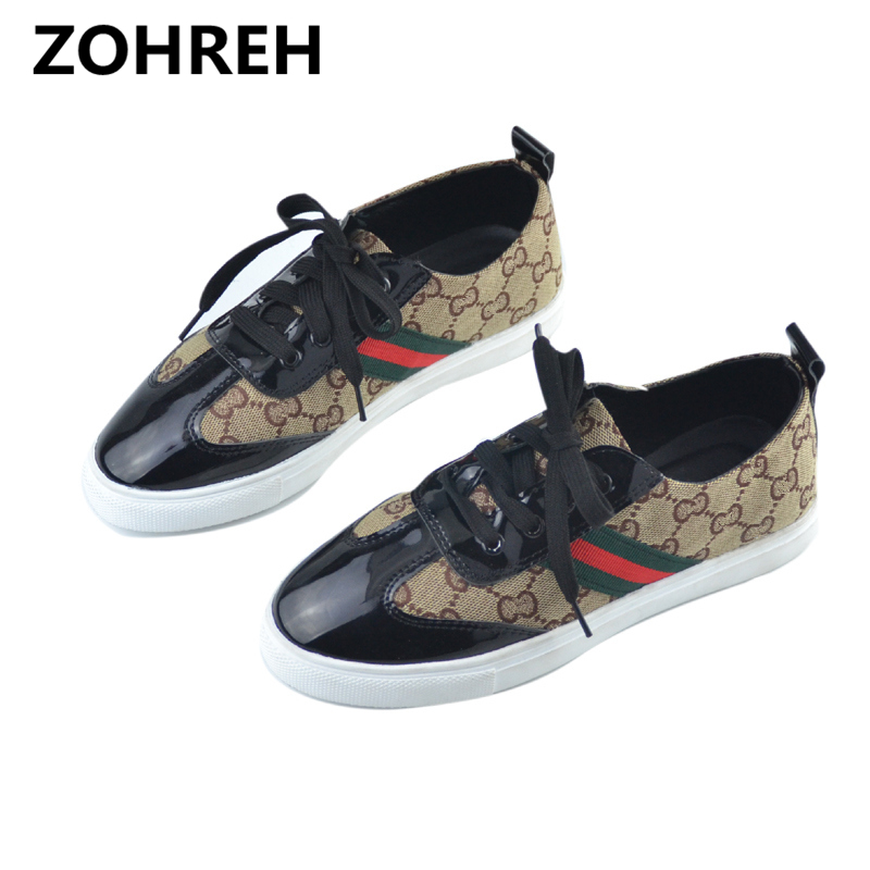 ZOHREH New Fashion Comfortable Seasons Women Espadrilles Shoes Genuine Leather Flats Woman Casual Loafers High Quality Big Size