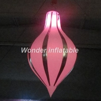 Nice colorful oxford inflatable LED balloon for Event party club stage birthday holiday christmas banquet decoration