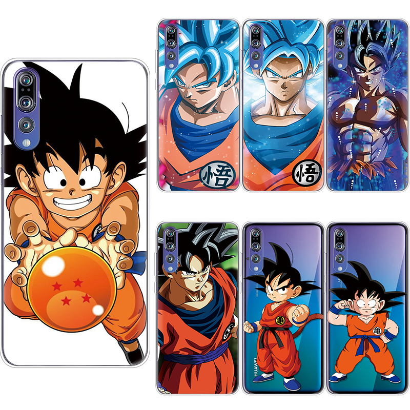 Dragon Ball Z Super DBZ Goku Fashion Case For Huawei Mate 9 10 20 S P Smart P8 P10 P20 P30 2017 2019 Lite Pro For huawei P30 Pro