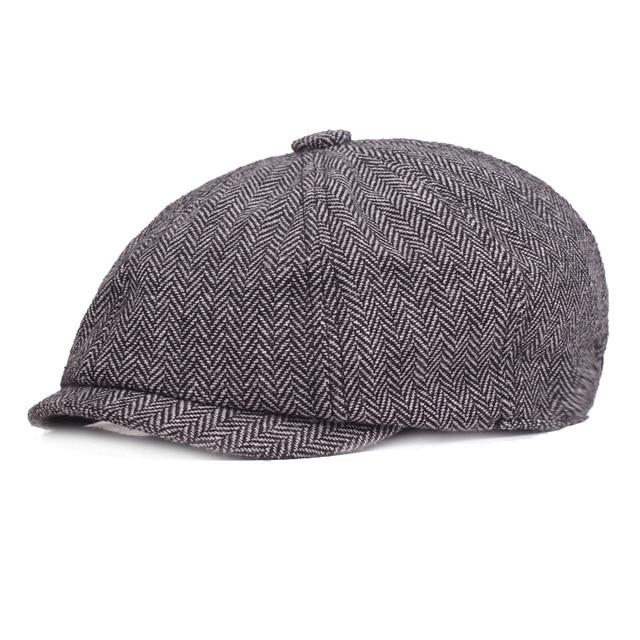 Cotton Men s Painter s Cap European and American Newsboy Hat Aliexpress Hot Hat  Amazon Newsboy LU0349 82ce43f9261