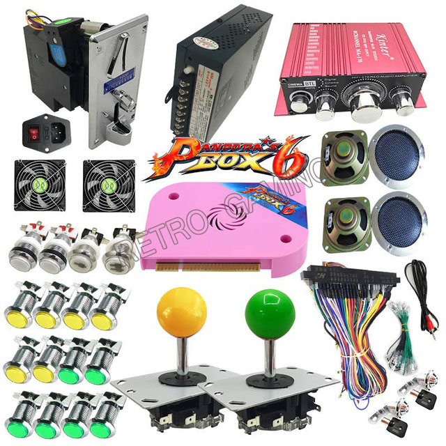 Pandora's Box 6 PCB 1300 in 1 Jamma - Full Kit for DIY Arcade Game Cabinet 3