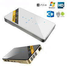 3d-brille FÜHRTE Miniprojektor 1080 P Full HD heimkino 3D HDMI USB Video mit HDMI USB TF Unterstützung IOS Android Windows Mac PS4
