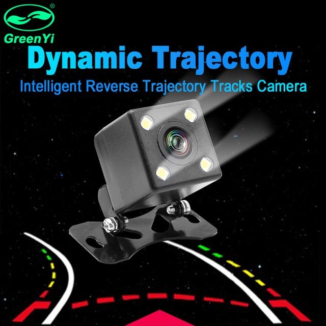 Intelligent Dynamic Trajectory Tracks Rear View Camera HD CCD Reverse Backup Camera Auto Reversing Parking Assistance