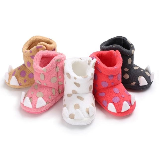 51d485b54 US $3.61 19% OFF|Unisex Baby Newborn Faux Fleece Bootie Winter Warm Infant  Toddler Crib Shoes Classic Floor Boys baby shoes-in Boots from Mother & ...